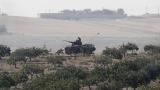 Турската армия влезе в Сирия