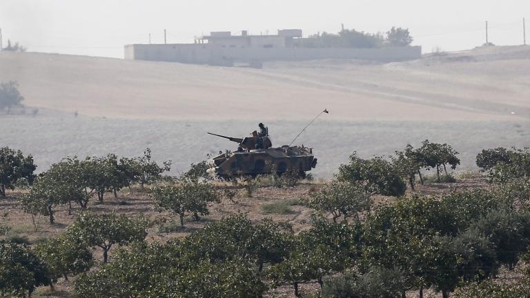 Снимка: Турската армия влезе в Сирия