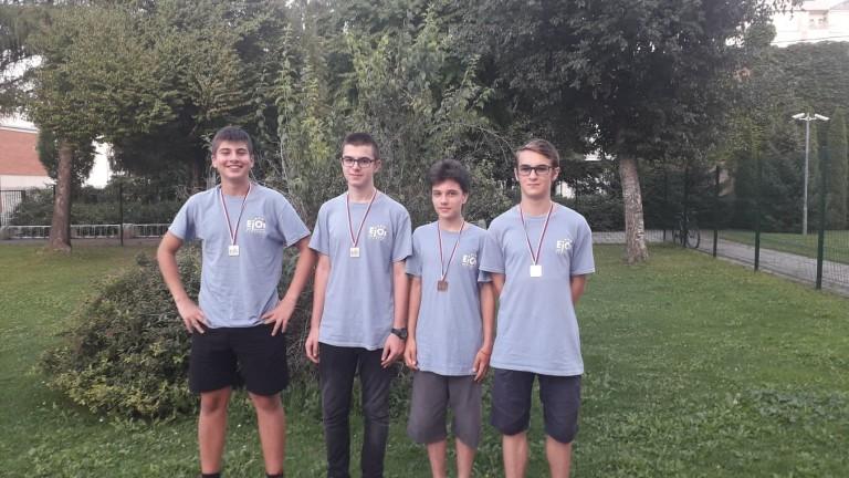 4 медала спечелиха наши ученици в Европейската олимпиада по информатика