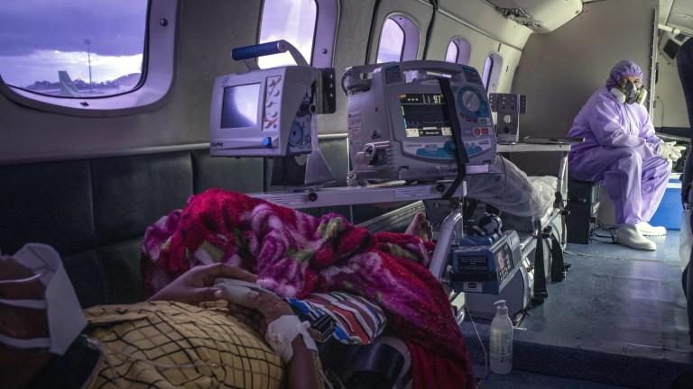 В Бразилия броят на случаите на коронавирус е над 360