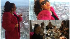 Ивана погледна Лондон от най-високата сграда The Shard
