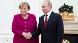 Започна срещата между Меркел и Путин в Москва