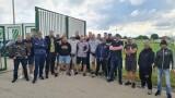Фенове на Ботев (Пловдив) подкрепиха Азрудин Валентич