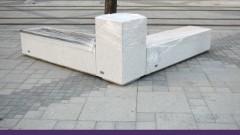 Спаси София: Новите пейки на Графа са като надгробни плочи