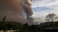 Евакуирани са хиляди заради изригващ вулкан на Филипините
