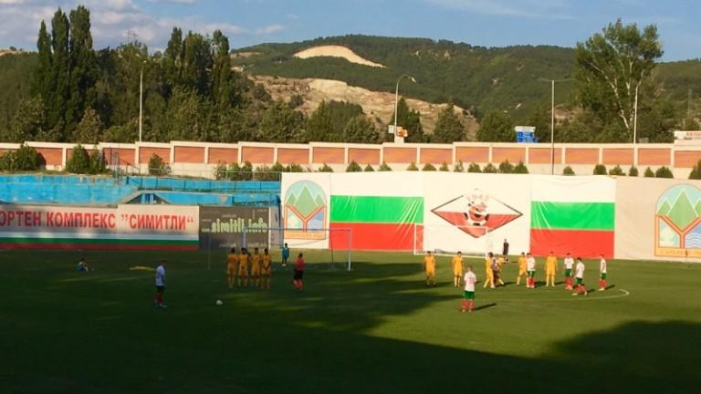 България U19 отстъпи на Северна Македония в първата си проверка