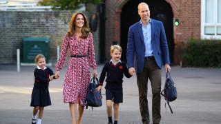 Първият учебен ден на принцеса Шарлот
