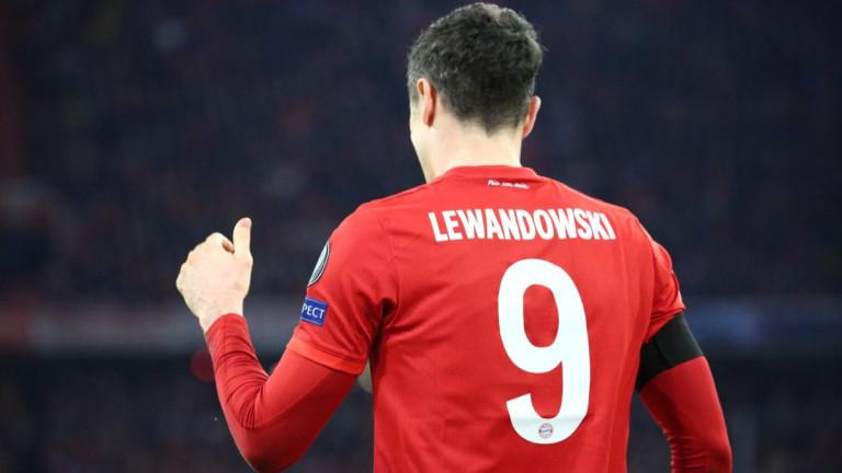Левандовски отложи операцията си за зимната пауза в Бундеслигата