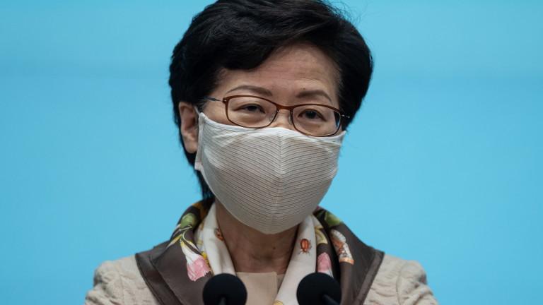 Лидерът на Хонконг обвини САЩ в двойни стандарти