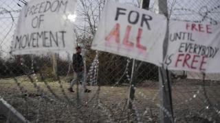 Македония издига нова ограда по границата с Гърция