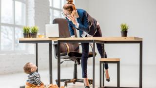 Щастливи ли са децата на работещите майки