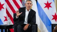 Обама подкрепи Макрон