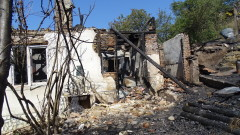 Пожар изпепели къща във Великотърновско