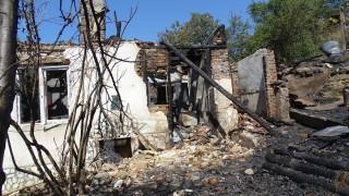 Пожар изпепели къща в Белица