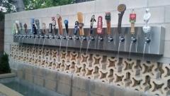 Пуснаха първия бирен фонтан в Европа