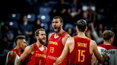 Испания се класира на полуфинал на Евробаскет 2017