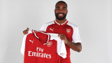 Александър Лаказет подписа с Арсенал