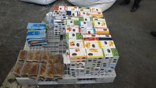 Митничари разбиха тайник със 150 кг контрабанден тютюн за наргиле