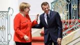 Срещата Макрон-Меркел е моментът на истината за Европа, определи Франция
