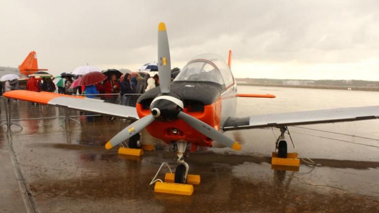 Лек испански военен самолет се разби в морето край югоизточното