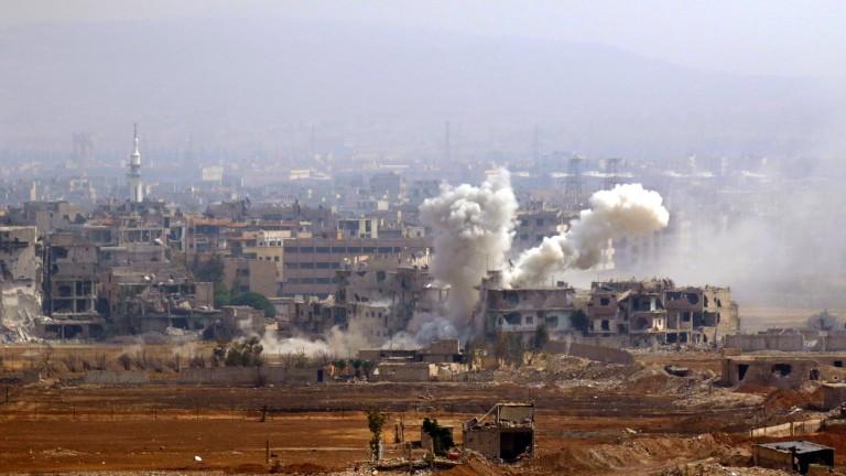Ирак удари ДАЕШ в Сирия
