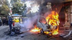 Повече от 30 загинали военни при експлозия в сирийска авиобаза