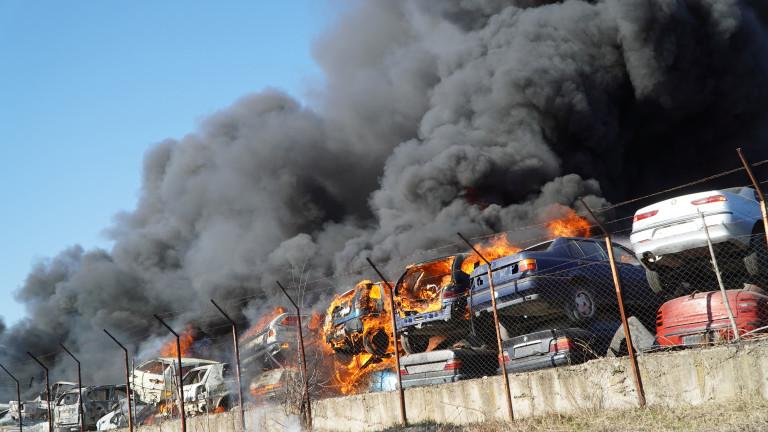 Съставят акт на фирмата, стопанисваща автоморгата в Хасково