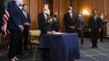 Пелоси подписа импийчмънта на Тръмп