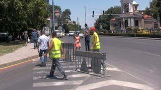 Строят нов автомобилен подлез в Пловдив