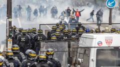 200 задържани на първомайския протест в Париж