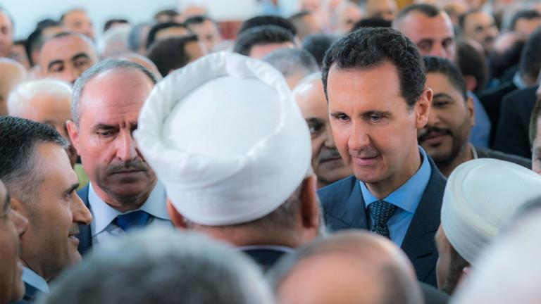 Президентът на Сирия Башар Асад заяви, че провеждането на преговори