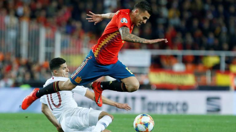 Дани Себайос трябва да избере - Милан или Тотнъм?