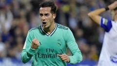 Реал (Мадрид) вкара четири гола на Сарагоса и е на 1/4-финал за Купата на Краля