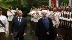 Иранският президент се срещна с Фидел и Раул Кастро в Куба