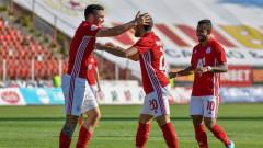 ЦСКА - Дунав 1:0, Тиаго бележи