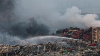 Властите отчели нарушение в съхраняването на опасните материали в Тянцзин