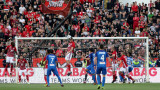Левски за четвърти път с точков аванс в дерби с ЦСКА през новия век