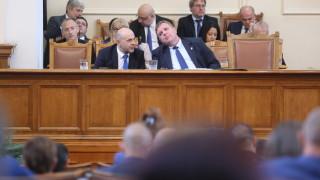 Каракачанов не е виждал толкова смешен вот