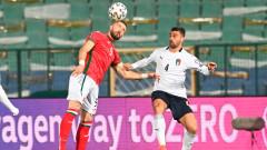 България - Италия 0:2 (Развой на срещата по минути)