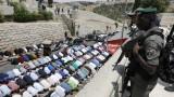 Израел забрани на мъжете под 50 г. да се молят в Йерусалим