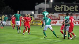 Ботев (Враца) - Берое, 0:1 (Развой на срещата по минути)