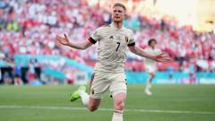 Дания - Белгия 1:2 (Развой на срещата по минути)