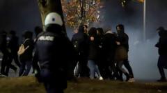 Полицията в Солун разпръсна опозиционен протест със сълзотворен газ