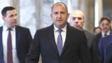 Румен Радев: Премиерът очевидно губи самообладание