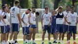 Аржентинците тренират дузпи преди осминафинала с Франция
