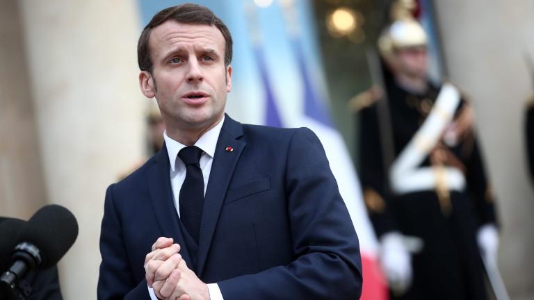 Президентът на Франция Еманюел Макрон обяви, че европейските държави трябва