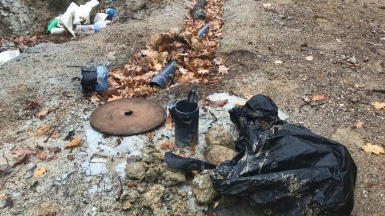 Снимка: Сигнализират за незаконни сондажи по трасето на АМ Струма