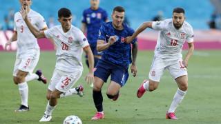 Словакия - Испания 0:5, втори автогол в мача