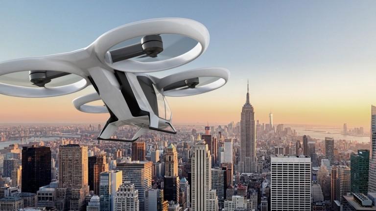 """Airbus пуска първото """"летящо такси"""" догодина"""