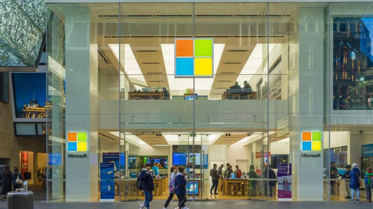 Снимка: Microsoft отваря първия си магазин в Европа след месец